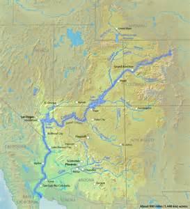 colorado river california map maps of the us state of colorado