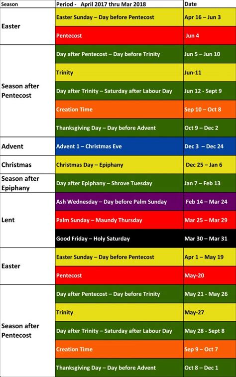 liturgical calendar colors liturgical colours sjruc