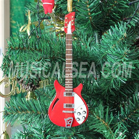 guitar ornaments for christmas tree miniature electric guitar tree ornament miniature musical instruments gift are the