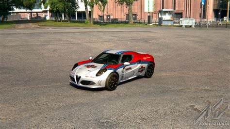 alfa romeo martini racing skins alfa romeo 4c martini racing racedepartment