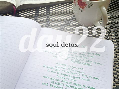 And Soul Lenten Detox by Day 22 She Reads She Reads