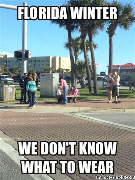 Florida Winter Meme - cold weather memes