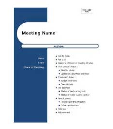 template for a 46 effective meeting agenda templates template lab