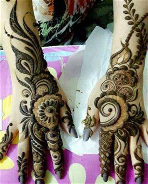 india & pakistani latest bridal mahndi designs 2017