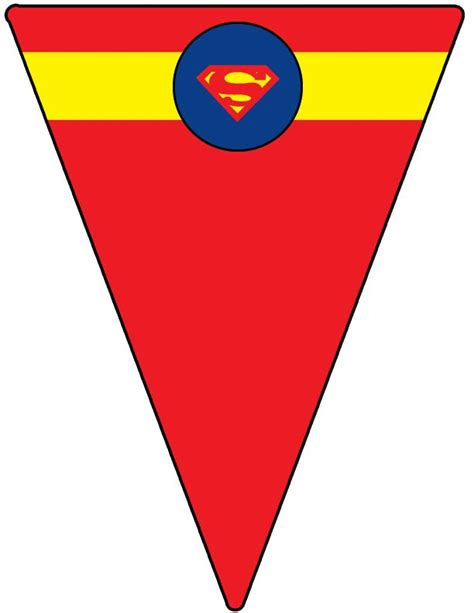 Bunting Flag Happy Birthday Banner Hbd Karakter Superman 232 best images about superman printables on presente birthday ideas and