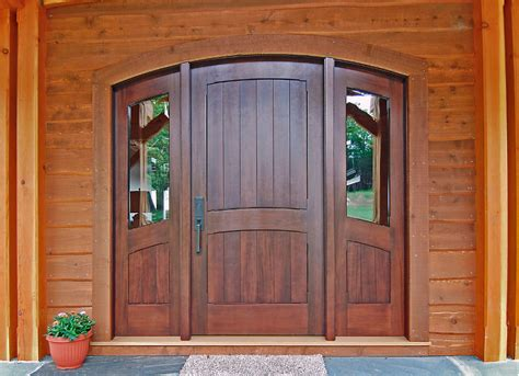 What Are Exterior Doors Made Of Timber Frame Exterior Doors New Energy Works
