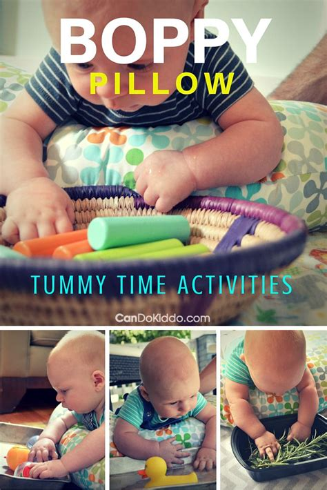 boppy pillow tummy time activities for baby play cando kiddo