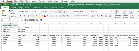 System Analysis Report Exle payroll and hr system for kenya odoo apps