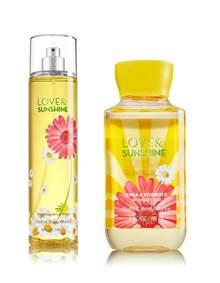 Bath And Body Shower Gel bath amp body works love amp sunshine shower gel and fragrance