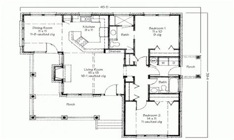 simple 2 bedroom house plans two bedroom house simple floor plans house plans 2 bedroom