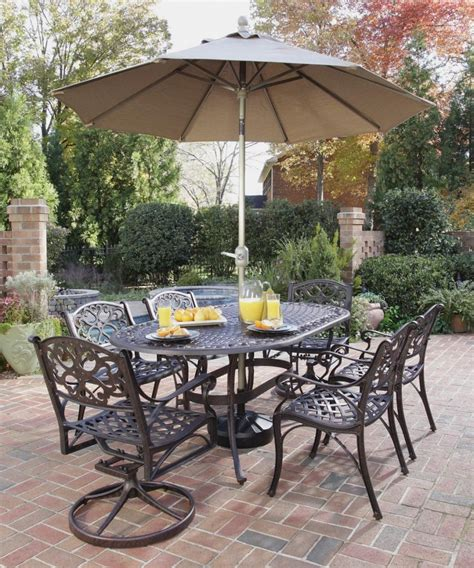 Clearance Patio Table Furniture Outdoor Dining Sets For Clearance Classic Black Outdor Dining Patio Dining Table And