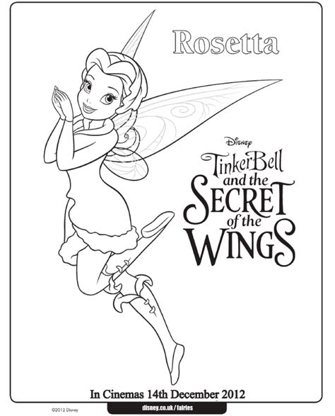 tinkerbell coloring pages games online free tinkerbell coloring pages rosetta