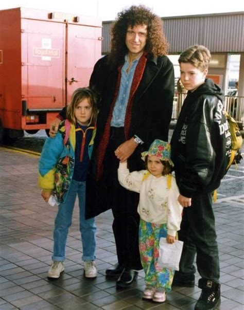 brian may family brian may and children on pinterest