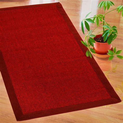 teppich sisal sisal teppich premium rot 3 gr 246 223 en mit passenden