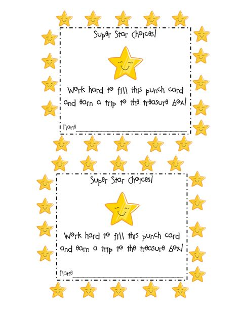 Behavior Reward Card Template by One Way That I Reward Wise Choices Is By Giving The A