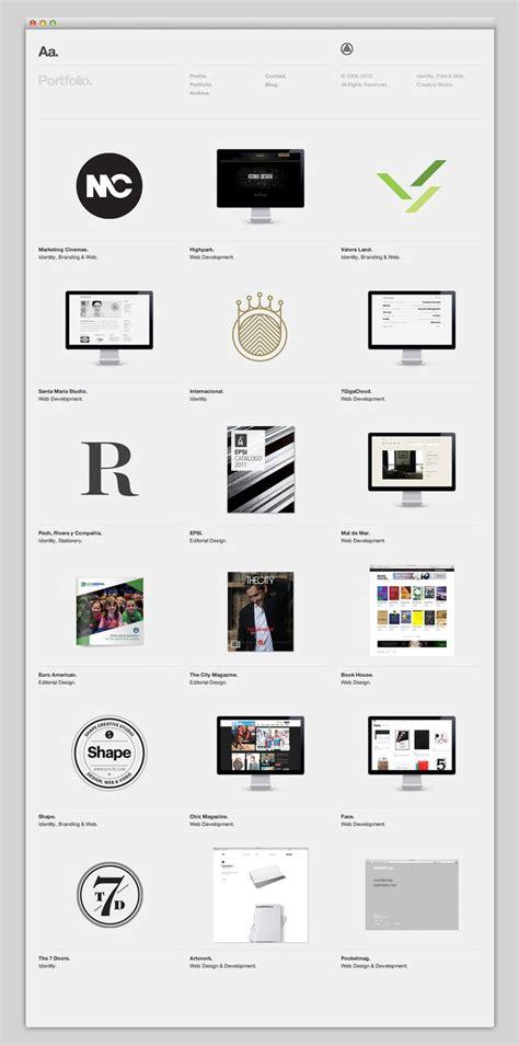 grid layout ux aa website grid minimal web d pinterest design