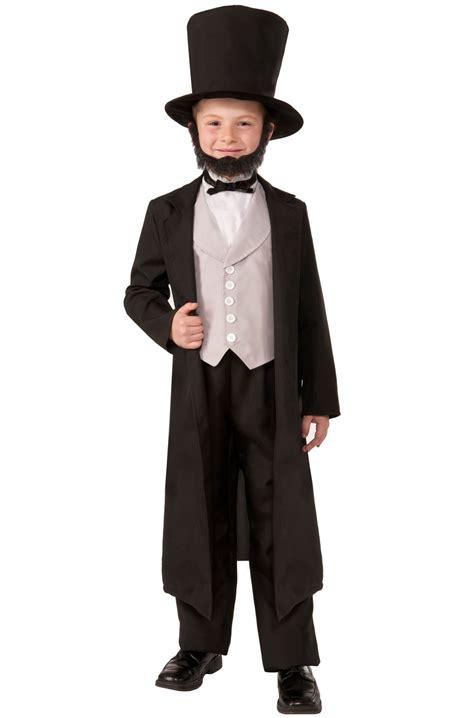 abraham lincoln costume for child president abraham lincoln child costume s ebay