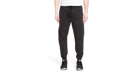 bench joggers bench inscription jogger pants in black for men lyst