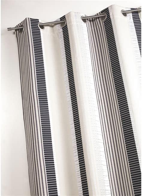 Rideau Fantaisie by Rideau En Jacquard Fantaisie 224 Rayures Verticales