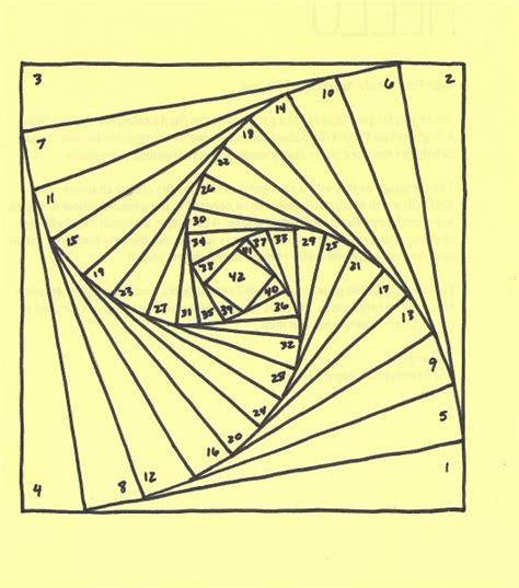 Iris Paper Folding Patterns - iris folding pattern