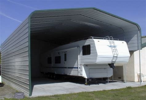 Portable Garages And Shelters Metal Rv Carports And Shelters What To Consider When Choosing One