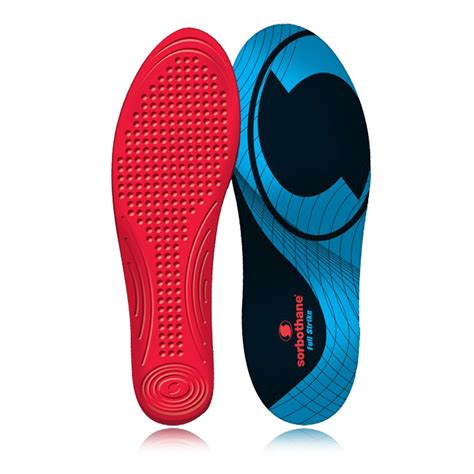 shoe insoles sorbothane strike shock stopper arch support anti