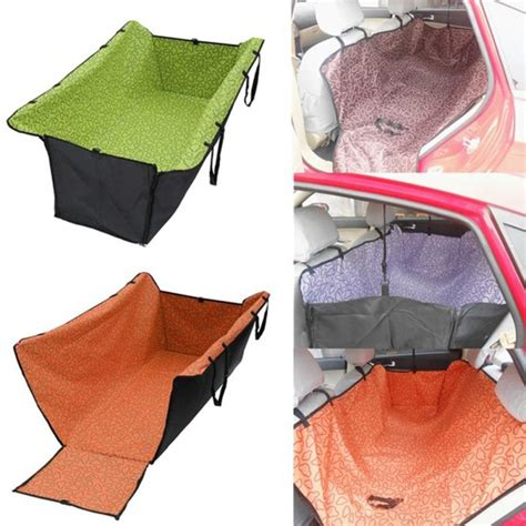 Protective Covers Dogs by Adjustable Waterproof Hammock Blanket Car Seat Cover