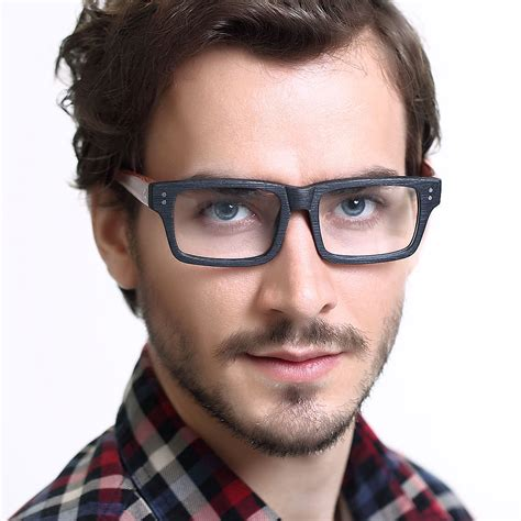 Kacamata Plastik Crosslink Sweep Doff Black Blue Limited 17 vintage glasses wood picture frame myopia eyeglasses frame
