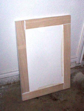 Add Trim To Cabinet Doors Cabinet Door Refinish Adding Trim Cabinets Doors And Cabinet Doors