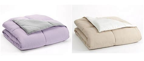 home classics reversible down comforter kohls home classics 174 reversible down alternative