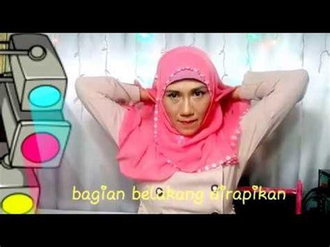 tutorial wajah tirus tutorial hijab untuk wajah tirus youtube