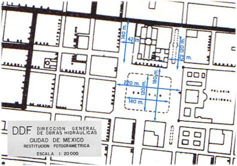 imagenes satelitales del zocalo capitalino el zocalo de la ciudad de mexico 4a parte en la 233 poca