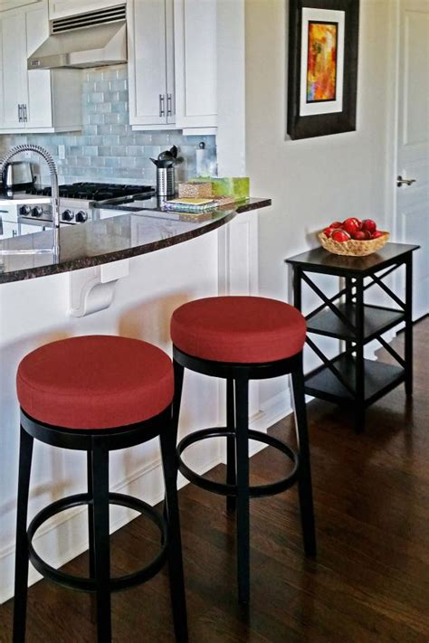 modern kitchen with red bar stools hgtv breakfast bar with red and black stools near kitchen hgtv