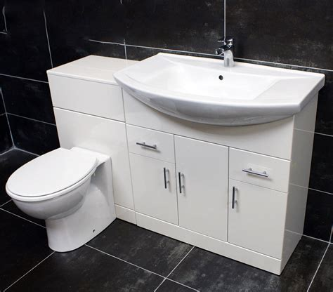 1250mm bathroom vanity set 750mm basin sink unit wc