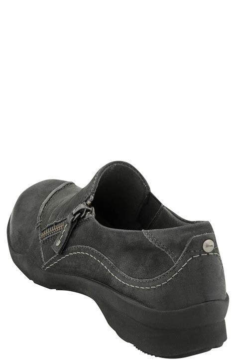 Slip On Zipper earth anise s slip on casual zipper shoe free