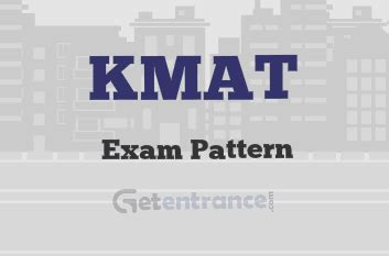 Kmat Syllabus For Mba by Kmat 2018 Pattern Structure Format