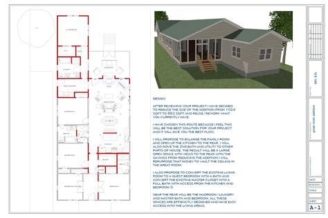 floor plans designed  touyer lee great room addition