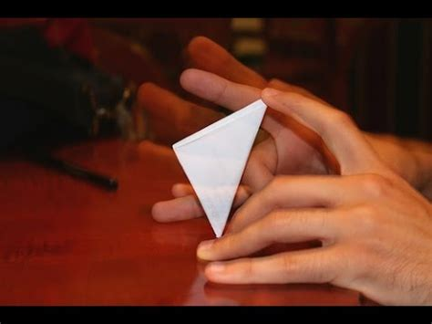 Origami Paper Football - how to make a paper origami football easy tutorial