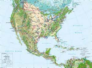map of united states and central america maps united states and central america economy