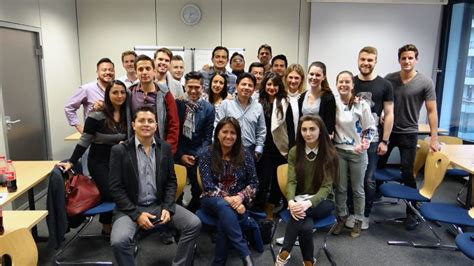Mba Study La Linens by Mba Students From Ecuador Visit Mbs Mbs Insights