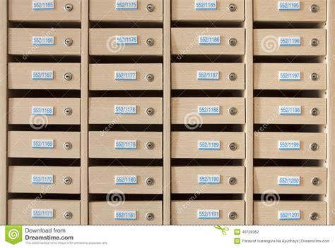 cassetta postale in legno cassetta postale di legno fotografia stock immagine