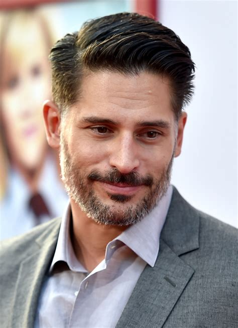very short side parted hairstyle pictures joe manganiello short side part hair lookbook men