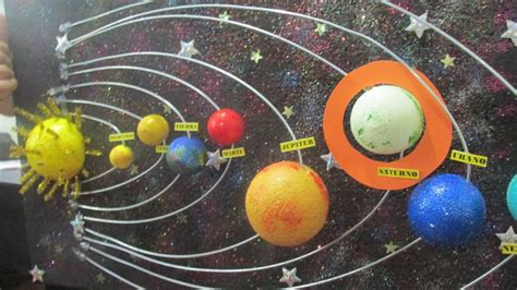 como ago una exppcicion del sisyema solar como hacer una maqueta del sistema solar con movimiento