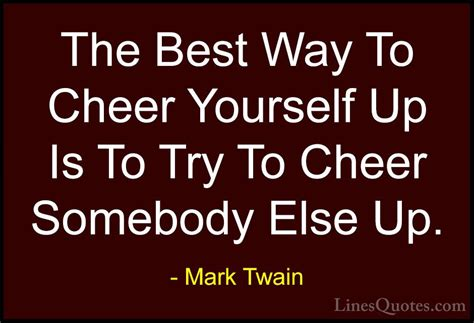 10 Ways To Cheer Yourself Up quotes and sayings with images linesquotes