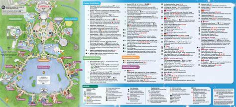 printable map epcot epcot park map my blog
