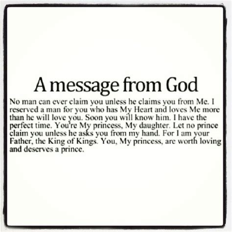 A Message From by Message From God Quotes Quotesgram