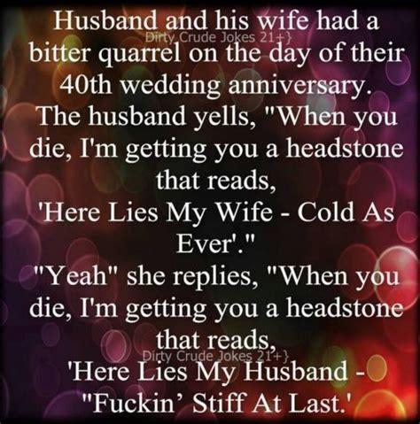 Wedding Anniversary Quotes Jokes by 40th Wedding Anniversary Jokes Funnycrazyviral