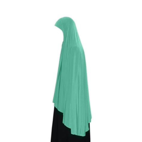 Khimar Arab khimar headscarf in turquoise style