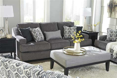 Couches Free Shipping by Gilmer Gunmetal Sofa Free Shipping Marjen Of Chicago
