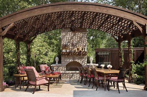 curved pergola designs outdoor goods